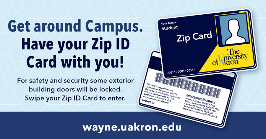 Have Your Zip ID Card With You