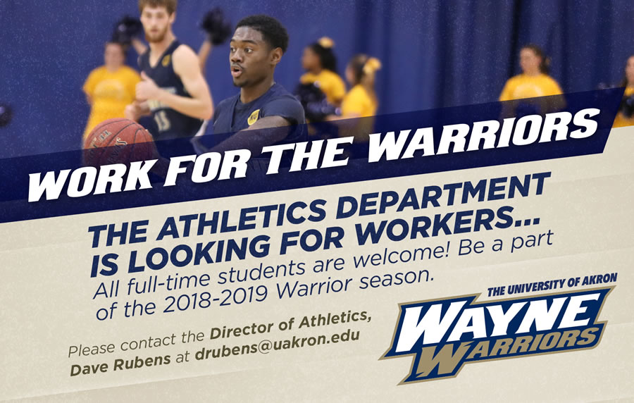 Athletics looking for workers