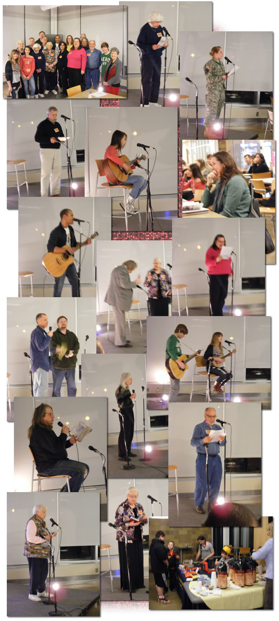Poetry, Prose and Acoustical Jam 2012