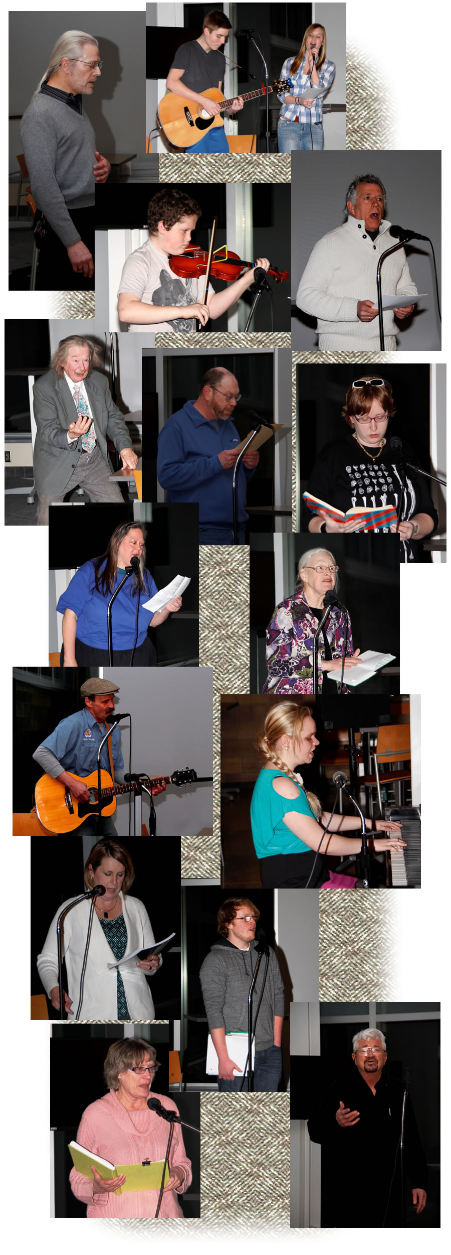 Poetry, Prose and Acoustical Jam 2014