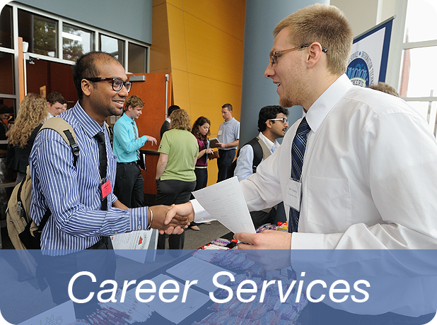 Link to Career Services information