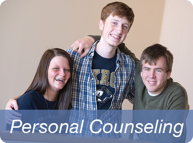 Link to Personal Counseling information page