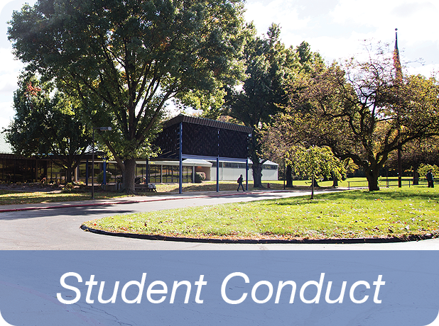 Link to Student Conduct information