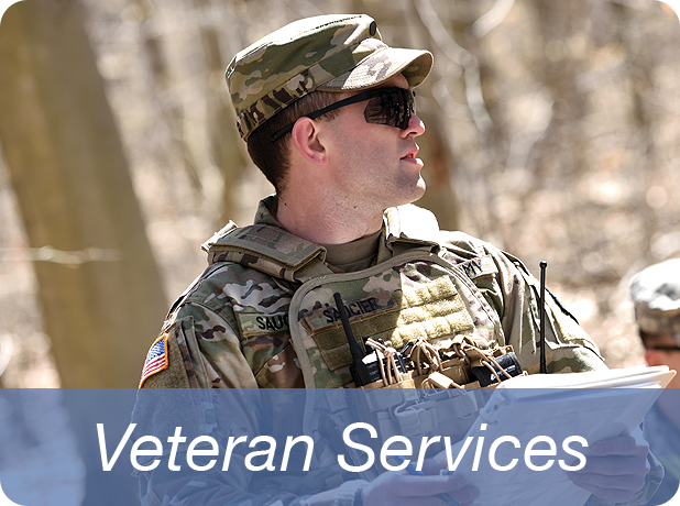 Link to Veterans Services