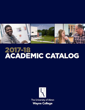 Academic Catalog Cover 17-18