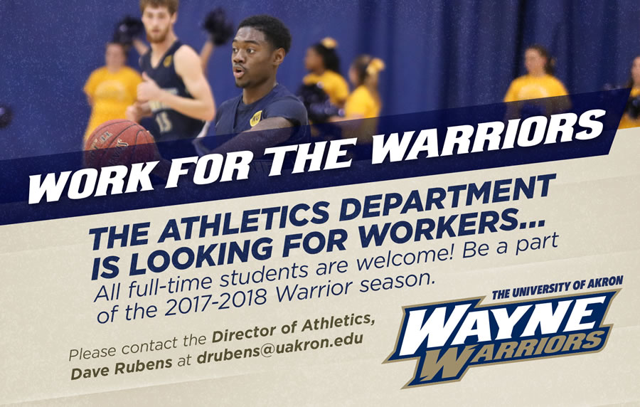 Athletics Workers Wanted