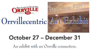 Orrvillecentric Art Exhibit - gallery opening planned for late October