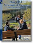 Schedule of Classes - Fall 2013